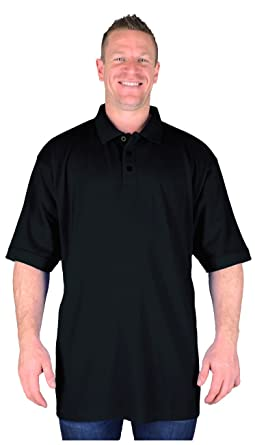 6943774f397 Big Mens Black BTS Jones Tall Long Polo Shirt Size 2XL 3XL 4XL 5XL 6XL 7XL