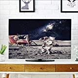 L-QN Protect Your TV American Spaceman Mo Future Solar Discovery in Deep Technology Protect Your TV W25 x H45 INCH/TV 47''-50''