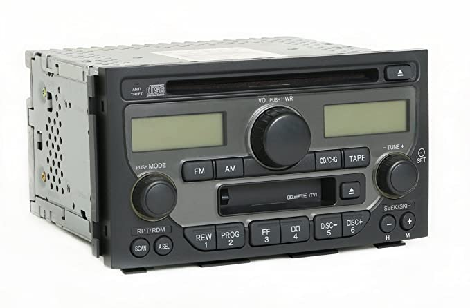 Amazon 0305 04 Honda Pilot Radio Cd Player Tape 2003 2004 2005 Rhamazon: Honda Pilot Radio At Gmaili.net
