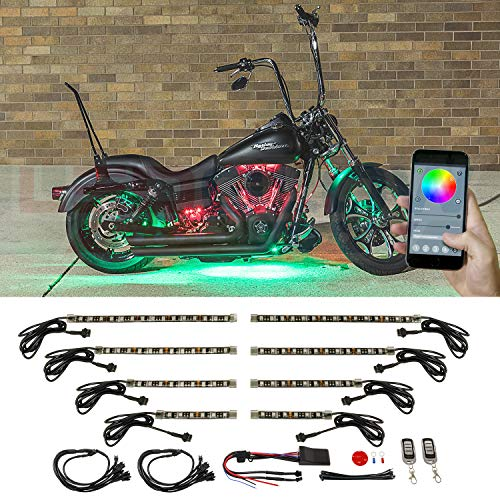 8pc motorcycle led lights - 5