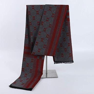 XIRUN - Bufanda de algodón suave a cuadros para hombre: Amazon.es: Ropa y accesorios