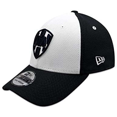 New Era 39Thirty Hat Rayados De Monterrey Liga MX Official Diamond Flex Cap (Small/