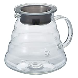"Hario V60""Clear"" Glass Range Coffee Server, 600ml"