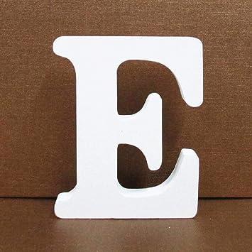 Gspirit Decorativo De Madera Letras, Pared Letras 26 Letras Madera Alfabeto para Niños Bebé Nombre Cumpleaños Fiesta Boda Casa Decoración (E): Amazon.es: ...