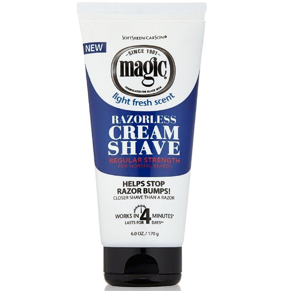 Magic Fragrant Shave Cream 177 ml Tube Depilatory (Case of 6)