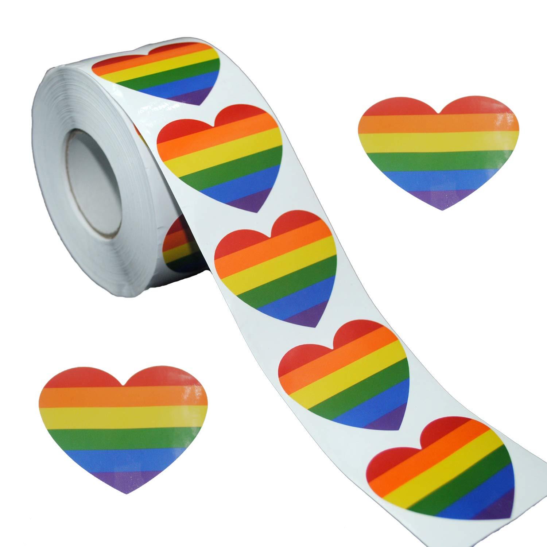 Stickers Calcos 500 Un. Lgbt Origen U.s.a. (7pnw5jy4)