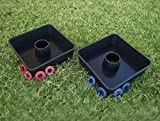Washoooes – All-Weather Washer Toss Game- Outdoor Family Horseshoes Style Game, Perfect for Parties, Camping, Tailgating and more. Hours of Fun For ALL by Driveway Games