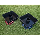 Washoooes - All-Weather Washer Toss Game- Outdoor Family Horseshoes Style Game, Perfect for Parties, Camping, Tailgating and more. Hours of Fun For ALL by Driveway Games