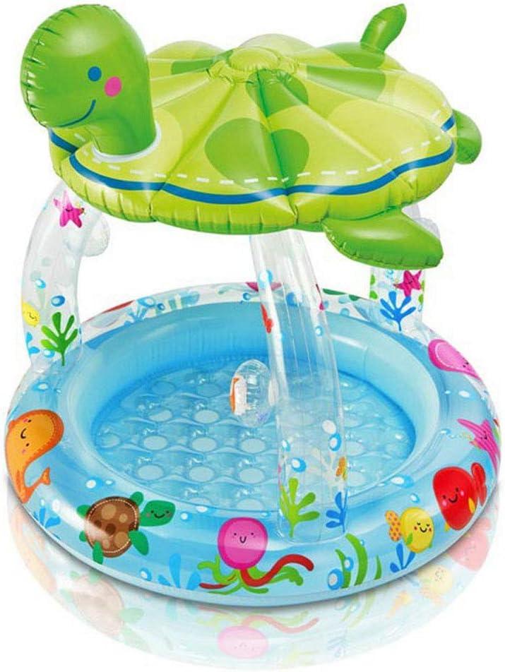 LQHLP Transparent Oval Pool Baby-Pool-Spaß-Pool 102  107CM Baby Pool Kinderbecken Baby Pool