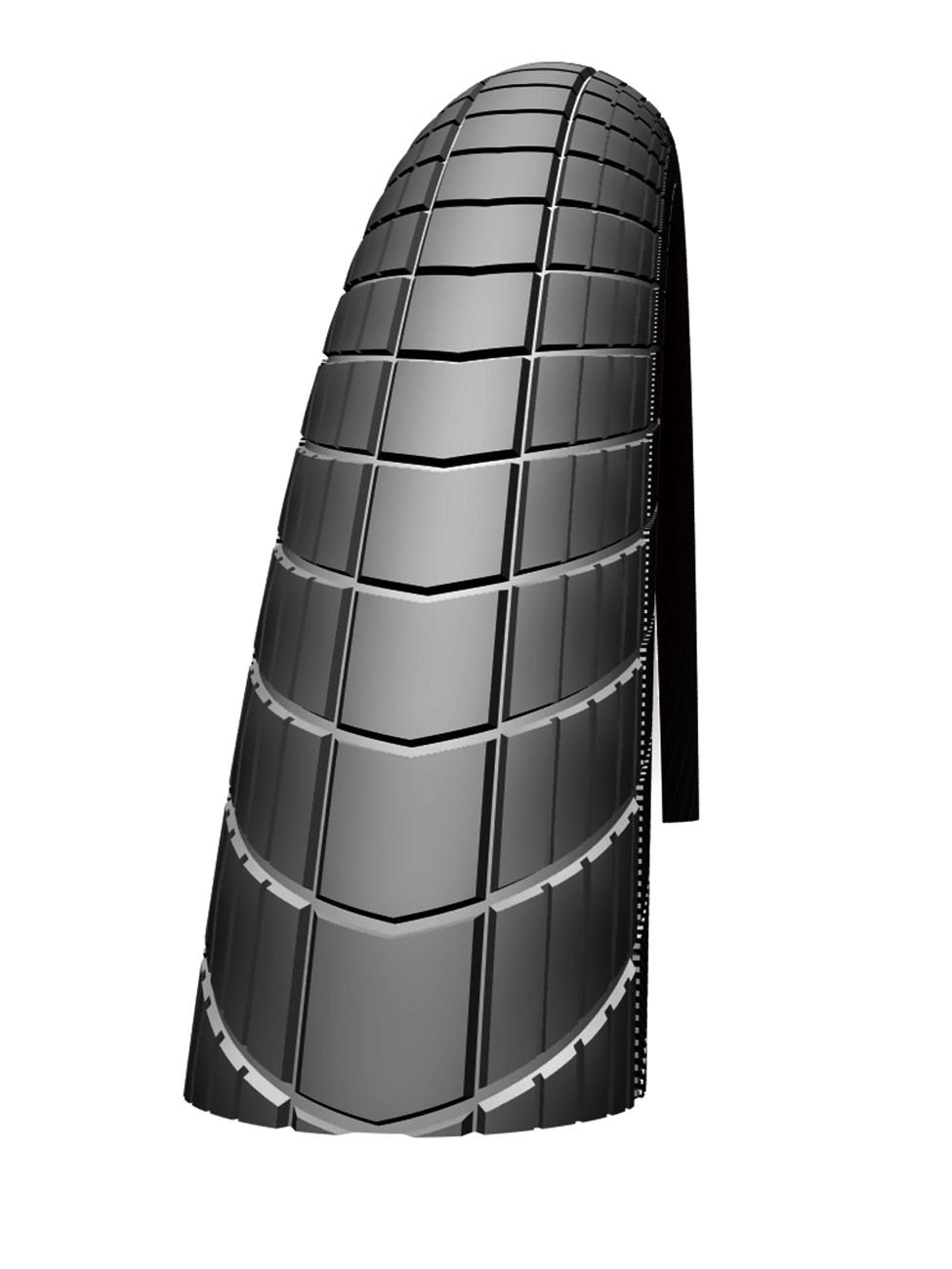 Schwalbe Big Apple Raceguard RLX Wire Bead Tire, 28X2.0-Inch