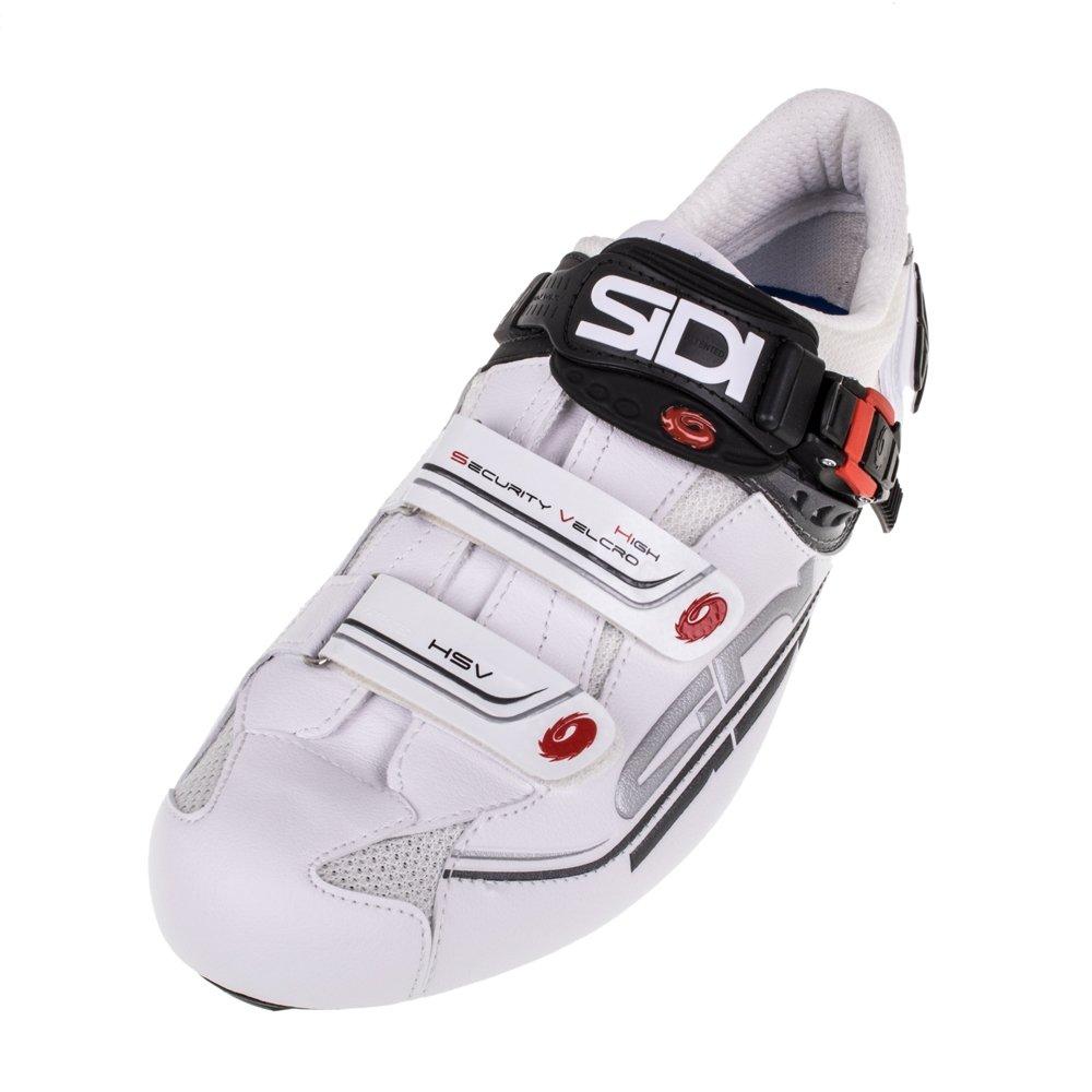 Sidi Genius 7 Mega Road Shoe White/White (Eur 46/US 11.5)