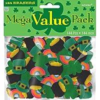Amscan 394944 - Goma de borrar (tamaño pequeño, 14,6 x 15,2 cm), multicolor