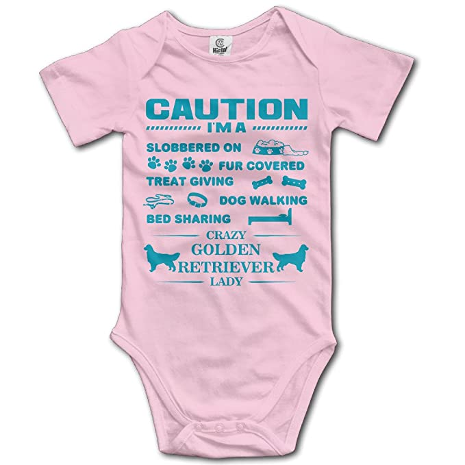 Amazon.com: Infant I m a Crazy dorado Retriever Lady ...
