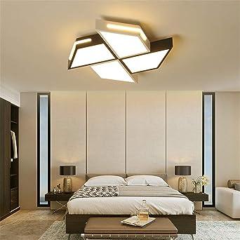 Dimmbare DeckenLeuchten für WohnZimmer Schlafzimmer quadratisch weiß ...