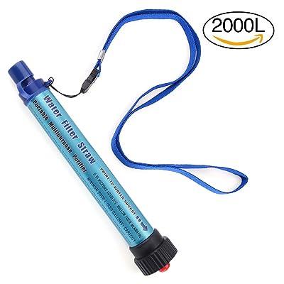 Zhaoke extérieur Micro-ultrafiltration filtre à eau purificateur d'eau pour le camping de voyage