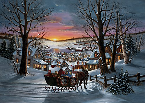 Sleigh Ride Christmas Cards - Set of 15