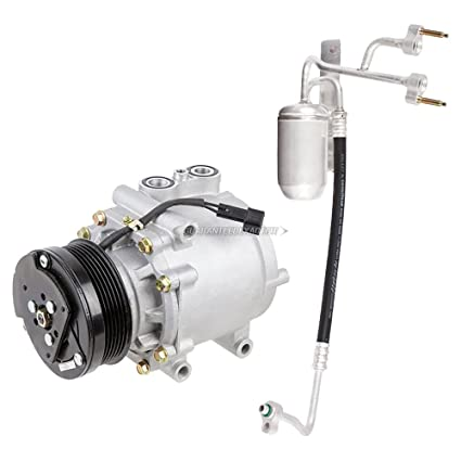 Premium Quality New Ac Compressor Clutch With A C Drier For Ford Expedition