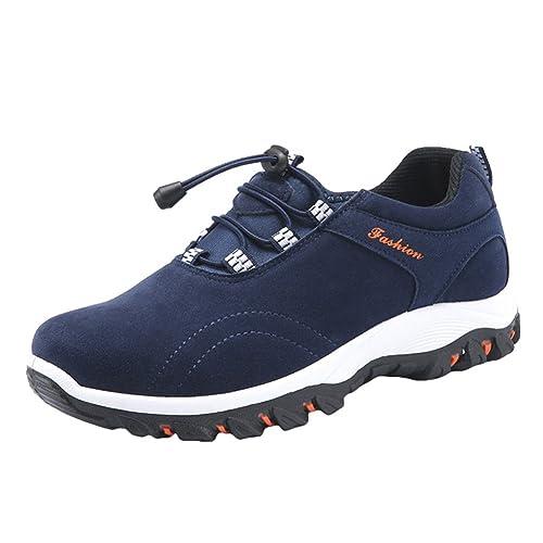 Uomo Scarpe Hibote Leggero Trekking Sneaker All'aperto Runners 6txRfdRqwn