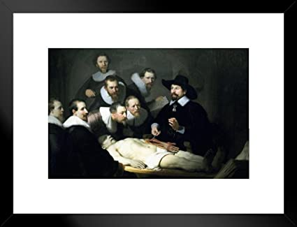 Amazon Poster Foundry Rembrandt The Anatomy Lesson Of Dr