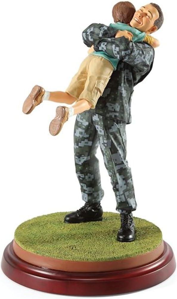 Thomas Blackshear's Coming Home Navy Ivory Figurine by Lenox
