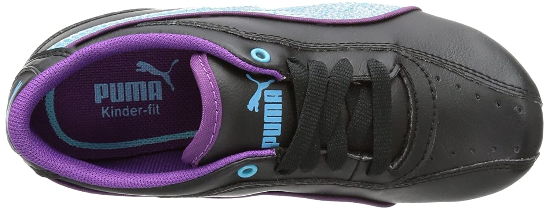 Puma Girls' 353012 Low-Top Sneakers Black Size: 1 UK: Amazon.co.uk: Shoes &  Bags