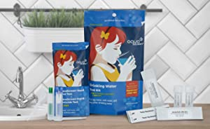 AquaScreen Drinking Water Test Kit - World's Most Sensitive Lead Test - 8-Parameters Detected in Tap & Well Water - Easy Test Strips for Lead, Pesticides, Bacteria, Hardness, and More