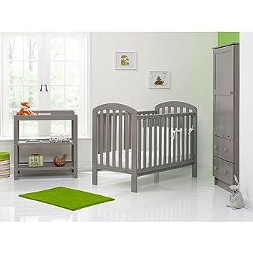 Obaby Lily 3 Piece Nursery Furniture Set Taupe Grey Amazon Co Uk
