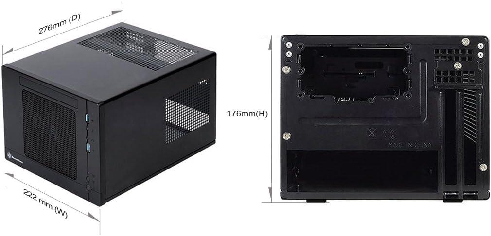 SST-SG05BB-LITE/_USB/_3.0 Silverstone Sugo mITX SFX No PSU black