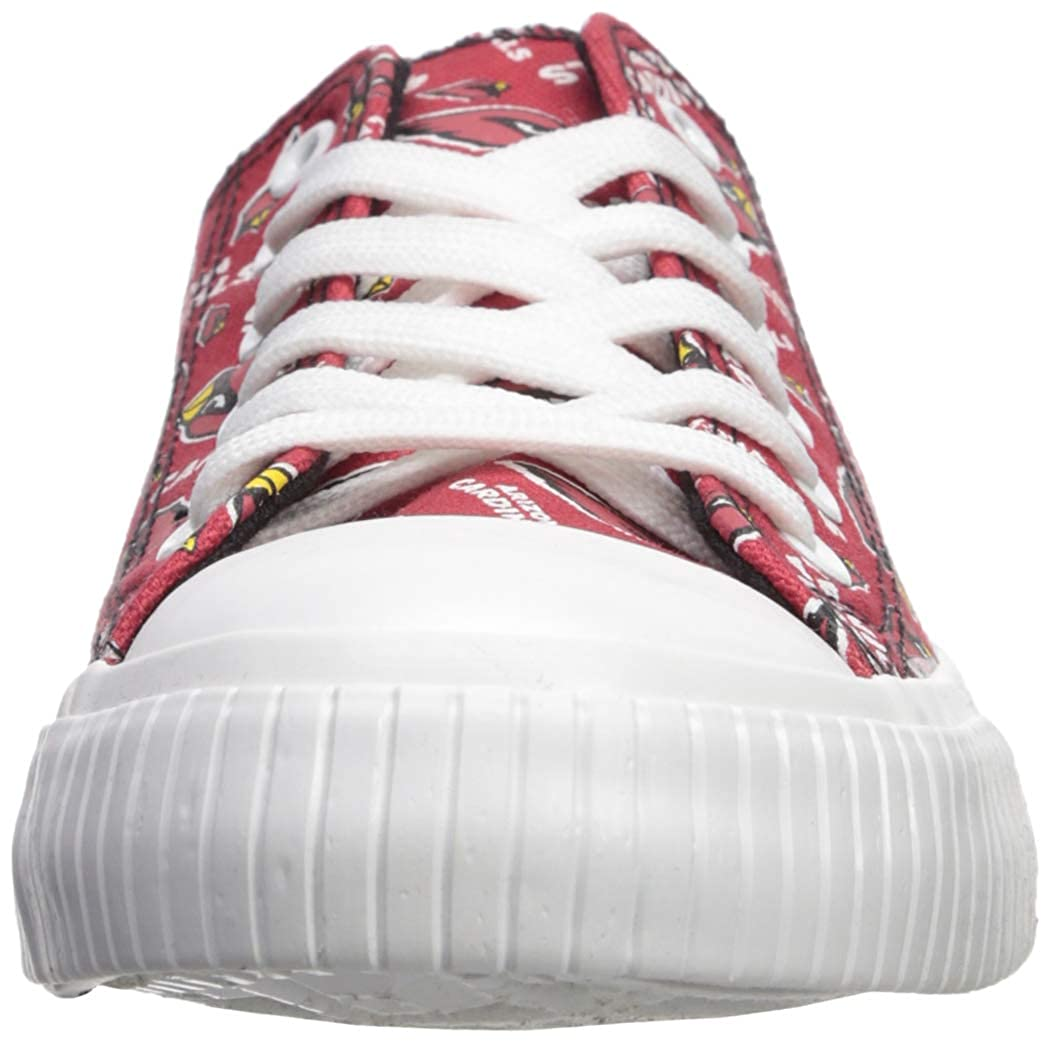 9bfccf25 FOCO NFL Womens Low Top Repeat Print Canvas Shoes