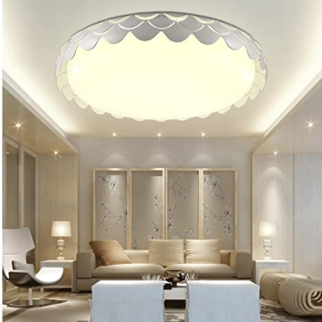 Modern Lámpara LED de techo flores diseño dormitorio lámpara ...