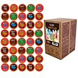 Brooklyn Bean Roastery Chocolate Variety Pack Single-Cup Hot Cocoafor Keurig K-Cup Brewers, 40 Count