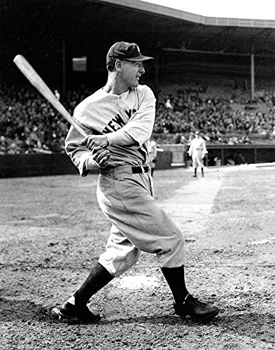 (New York Yankees Lou Gehrig in 1931. 8x10)