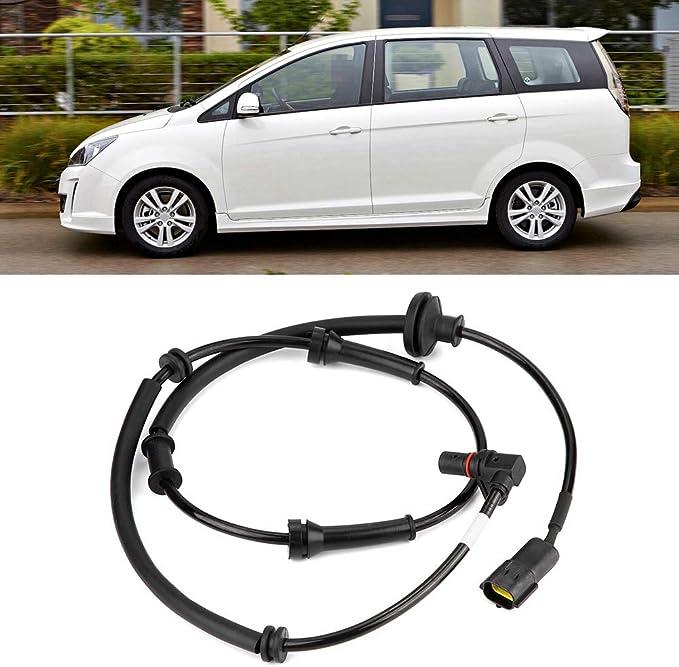 Sensor de velocidad del ABS delantero izquierdo, PW828437 Sensor de velocidad de la rueda del ABS del coche: Amazon.es: Coche y moto