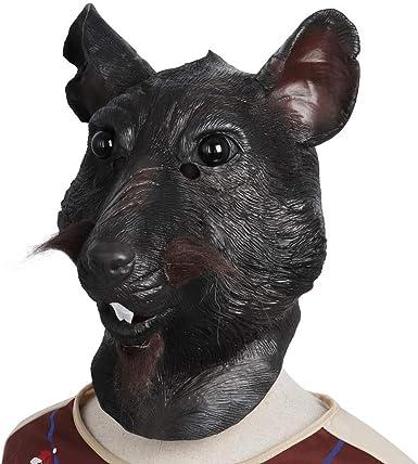 YIHAIXINGWEI Master Splinter máscara de Rata, máscara de ratón ...
