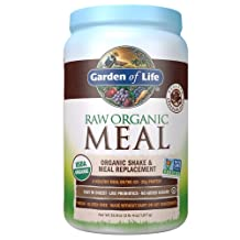 Garden of Life Meal Replacement - Organic Raw Plant Based Protein Powder