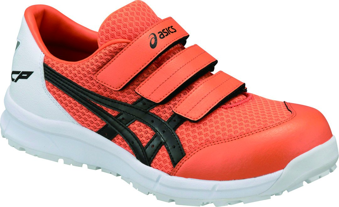 [アシックス]安全靴作業靴FCP202 B07B49STMT 27.5 cm|オレンジ/ブラック オレンジ/ブラック 27.5 cm