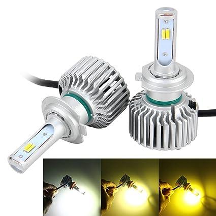 Bombilla de coche 2 PCS H7 26W 2250LM Car Headlight LED Auto Light Función incorporada de