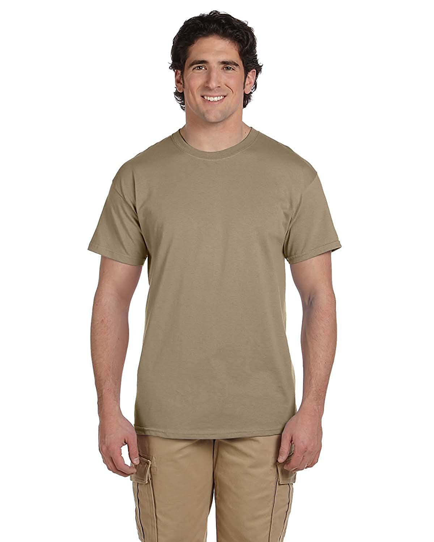 Fruit Of The Loom Mens Crew Neck T Shirt Multipack Mom N Bab Short Tee Khaki Animal Head Clothing