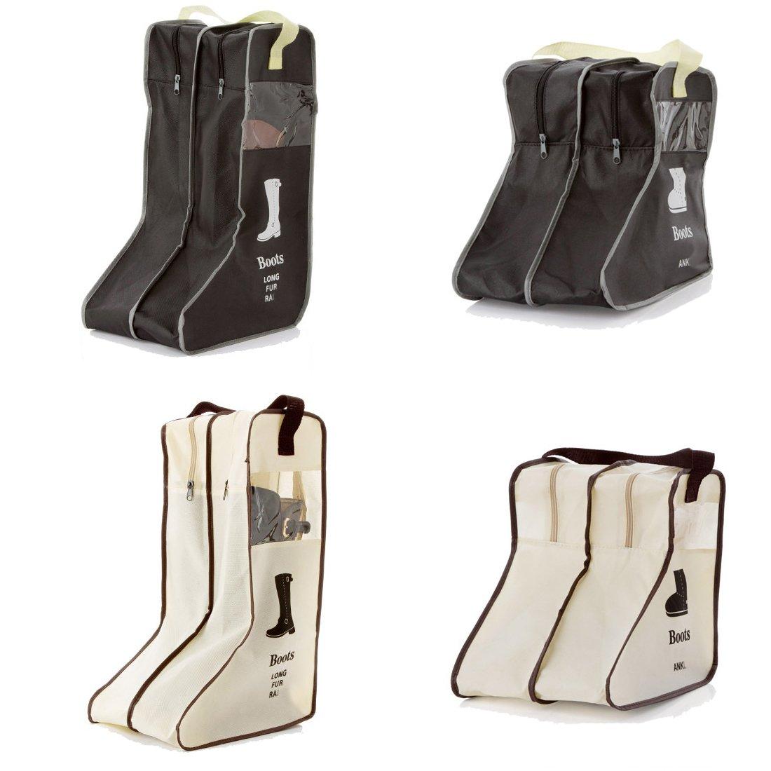Boot & Shoeボックス L ブラック L ブラック B01MZ15PHI