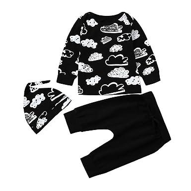 3d82aaabd1552 LuckyGirls Hiver bébé garçon Naissance Printemps Pas Cher Manteau garçon  Pyjama Enfant Fille Manche Longue