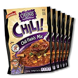Cugino\'s Gourmet Foods Chili Fixin\'s Mix, 6-Pack