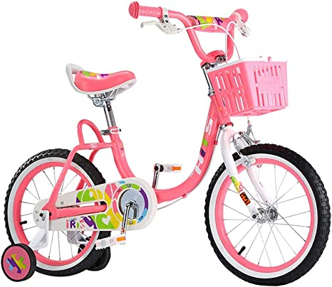 Bicicletas Para Niños Rosa Chica 16 Pulgadas Niños De 4 A 8 Años ...