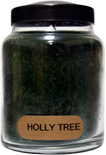 product image for A Cheerful Giver Holly Tree 6 oz. Baby Jar Candle, 6oz