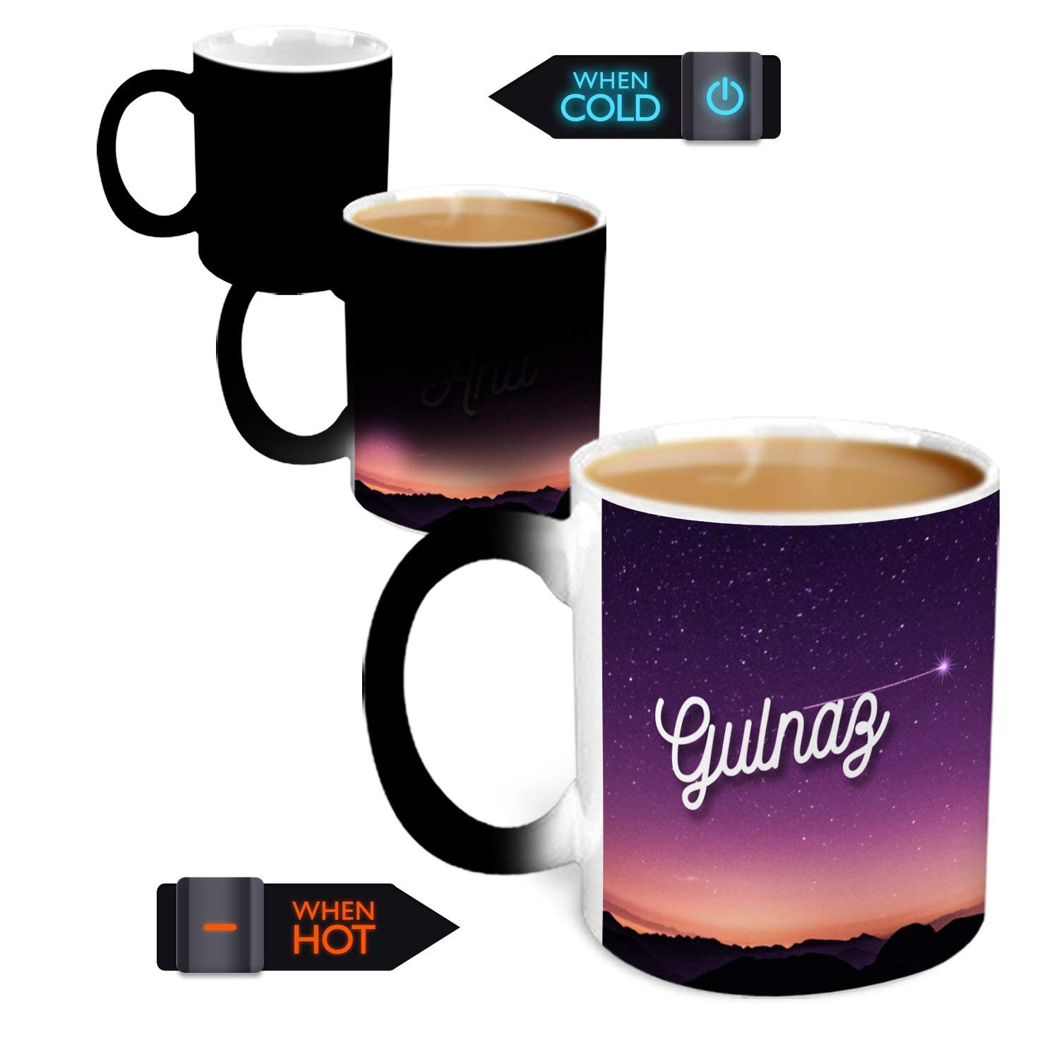 Buy Hot Muggs You Re The Magic Gulnaz Magic Mug Personalised Name Ceramic 315 Ml 1 Unit Valentine Gift Online At Low Prices In India Amazon In