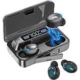 Audífonos Bluetooth, TXG Audífonos Inalámbricos Bluetooth, Auriculares Inalámbricos Deportivos con Interfaz con Micrófono, Ca