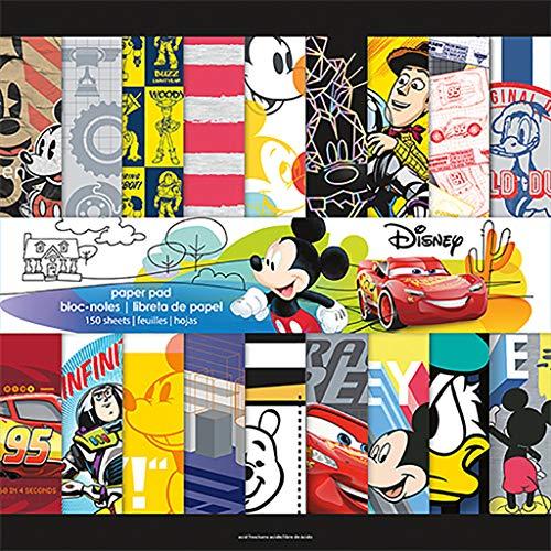 Trends International Disney Boy - Mega Paper Pad 150PG, Multicolor