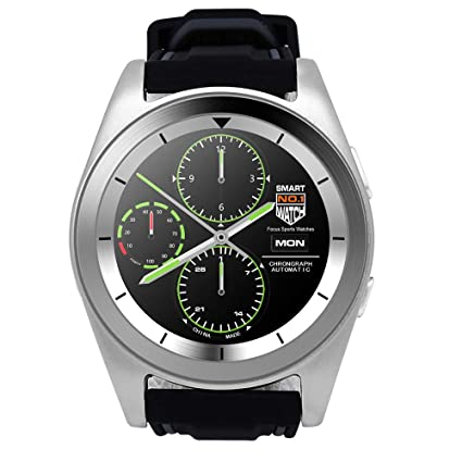Amazon.com: Auntwhale Smart Watch 1.2 Inch HD IPS Touch ...