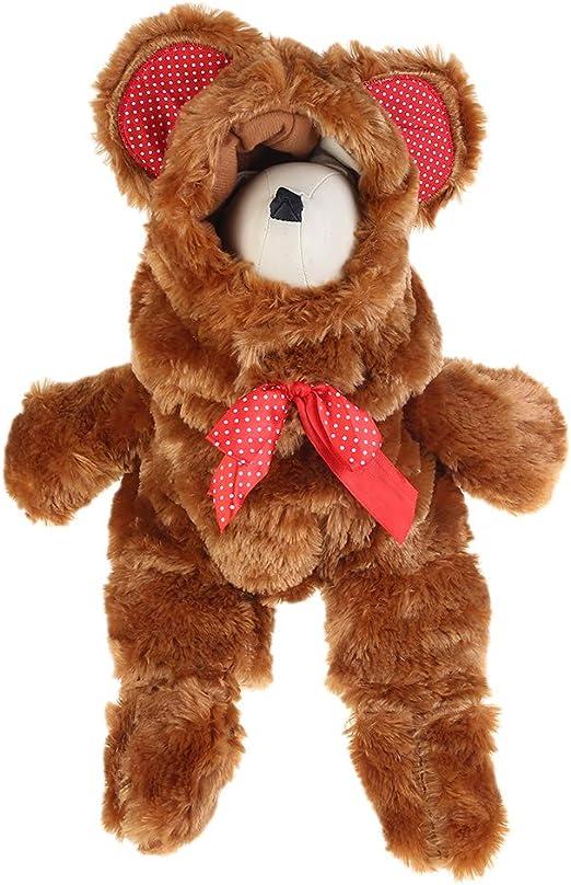 Disfraz de oso de peluche para mascotas, diseño de perro y gato ...