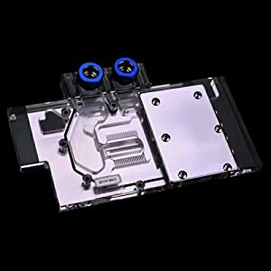 B BYKSKI RGB VGA GPU Water Cooling Block for Sapphire R9 480 R9 470(Overseas Version)