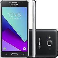 Smartphone Samsung Galaxy J2 Prime G532 Preto- TV Digital, Dual Chip, 4G, Tela 5, Câmera 8MP + 5MP Com Flash Frontal, Quad Core 1.4Ghz, 16GB